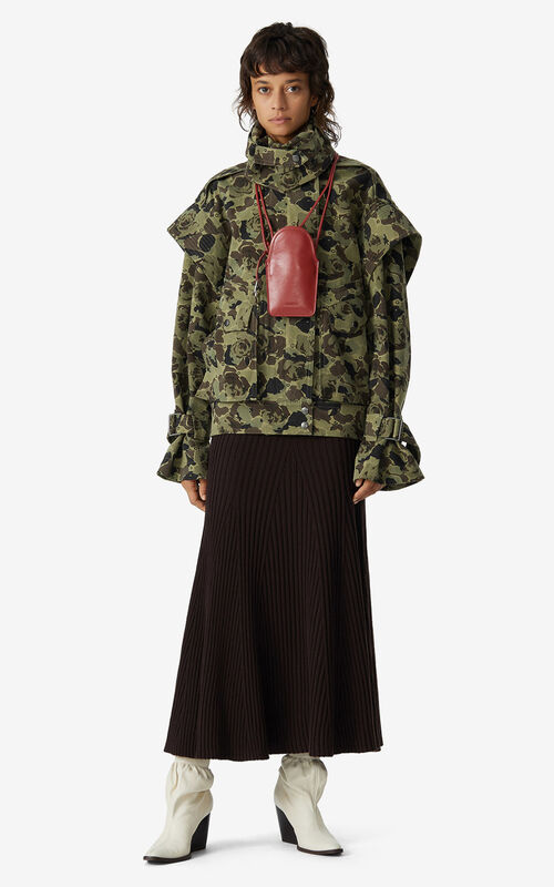 OLIVE Rose Camo' overdyed jacket for men KENZO