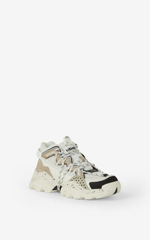 PALE GREY Inka trainers for unisex KENZO