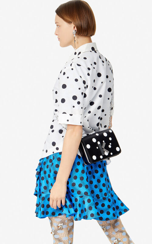 BLACK 'Dots' K-Bag Chainy bag 'High Summer Capsule collection' for women KENZO
