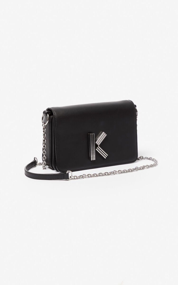 BLACK K-Bag Chainy bag for women KENZO