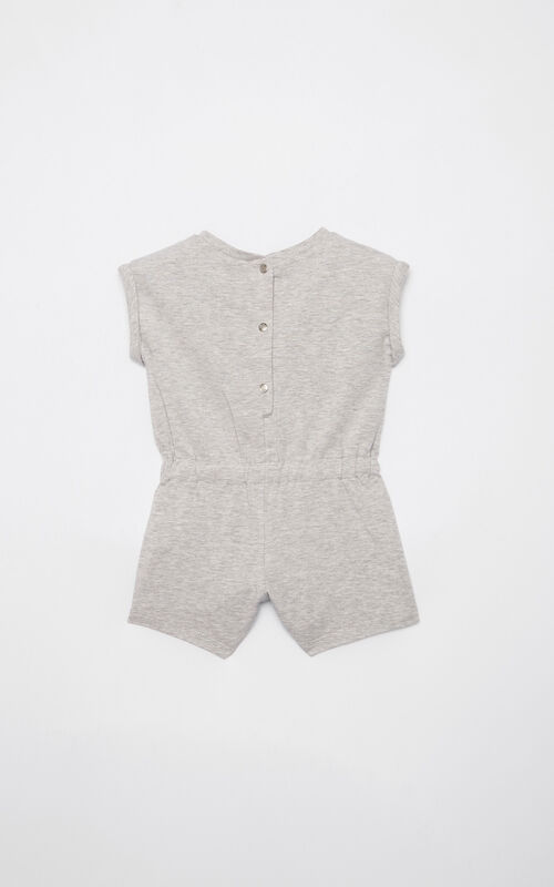MIDDLE GREY Tiger playsuit for women KENZO