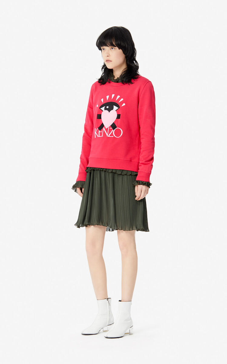DEEP FUSCHIA 'Cupid' sweatshirt for women KENZO