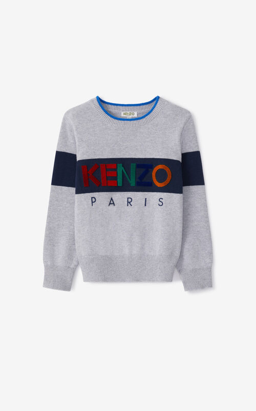 PEARL GREY KENZO Sport sweater for unisex
