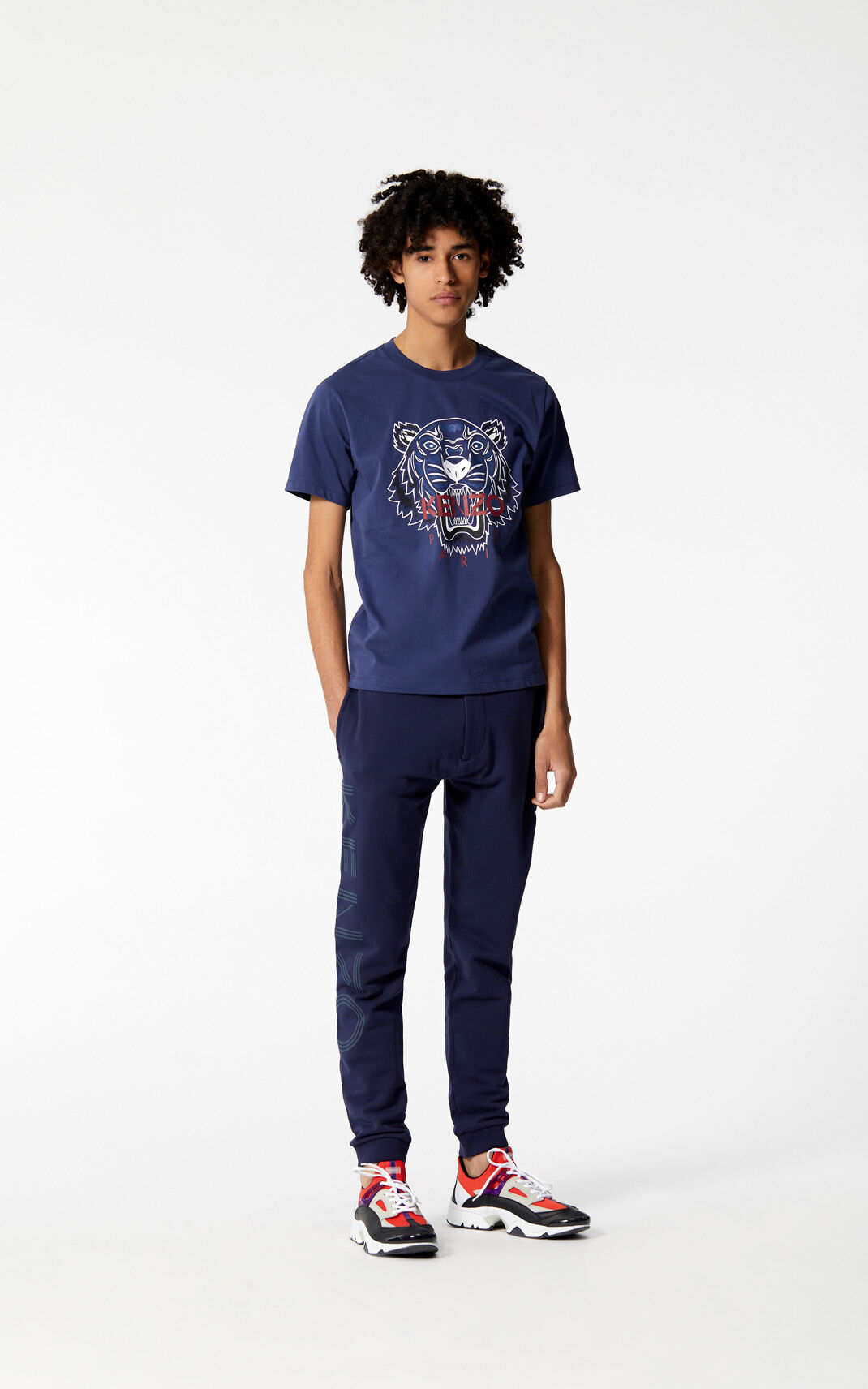 INK 'Bleached Tiger ' T-shirt for men KENZO