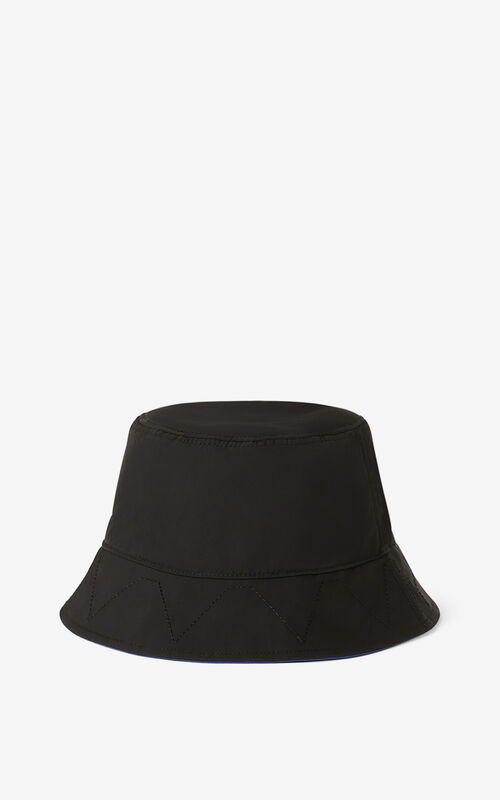 BLACK KENZO Sport 'Little X' bucket hat for unisex