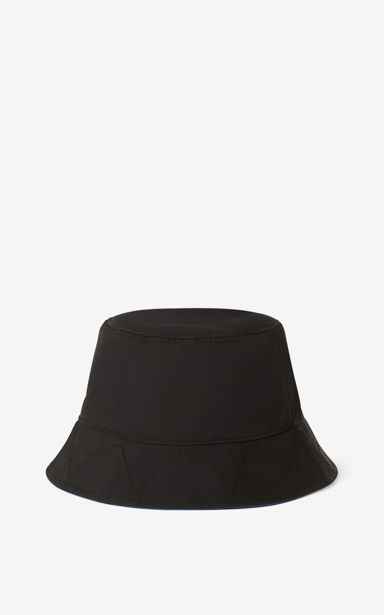 BLACK KENZO Sport 'Little X' bucket hat for men