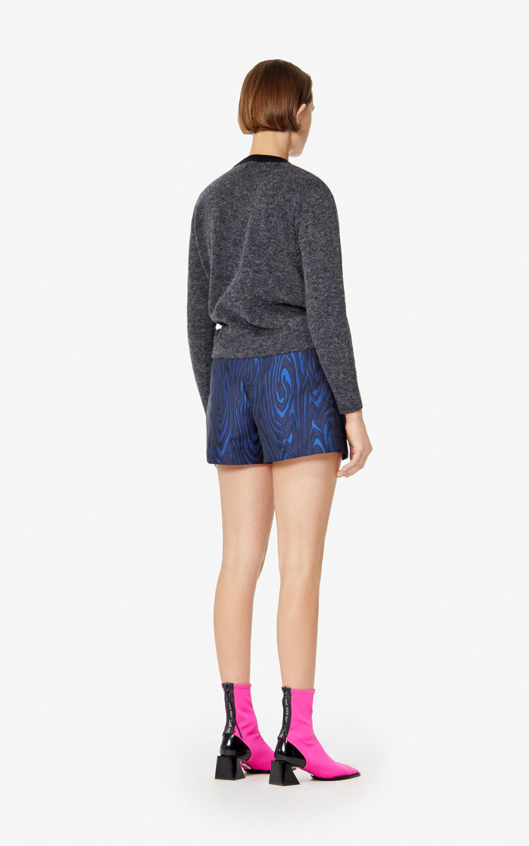 ANTHRACITE 'Eye' wool jumper for women KENZO