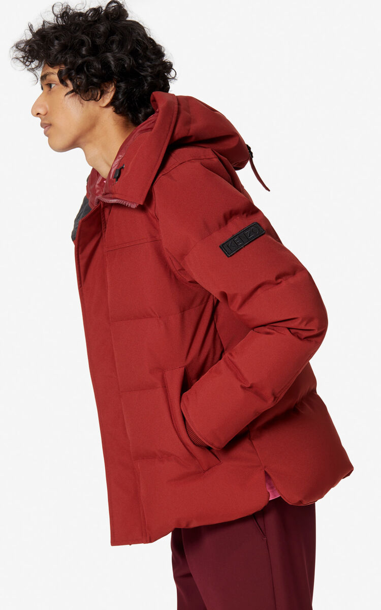 SUEDE Quilted puffer jacket for women KENZO