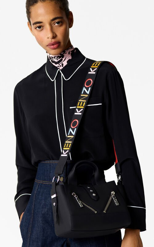 BLACK Silk Pajama Shirt  for women KENZO