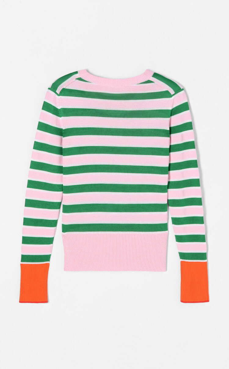 MULTICOLOR Striped Tiger jumper for women KENZO