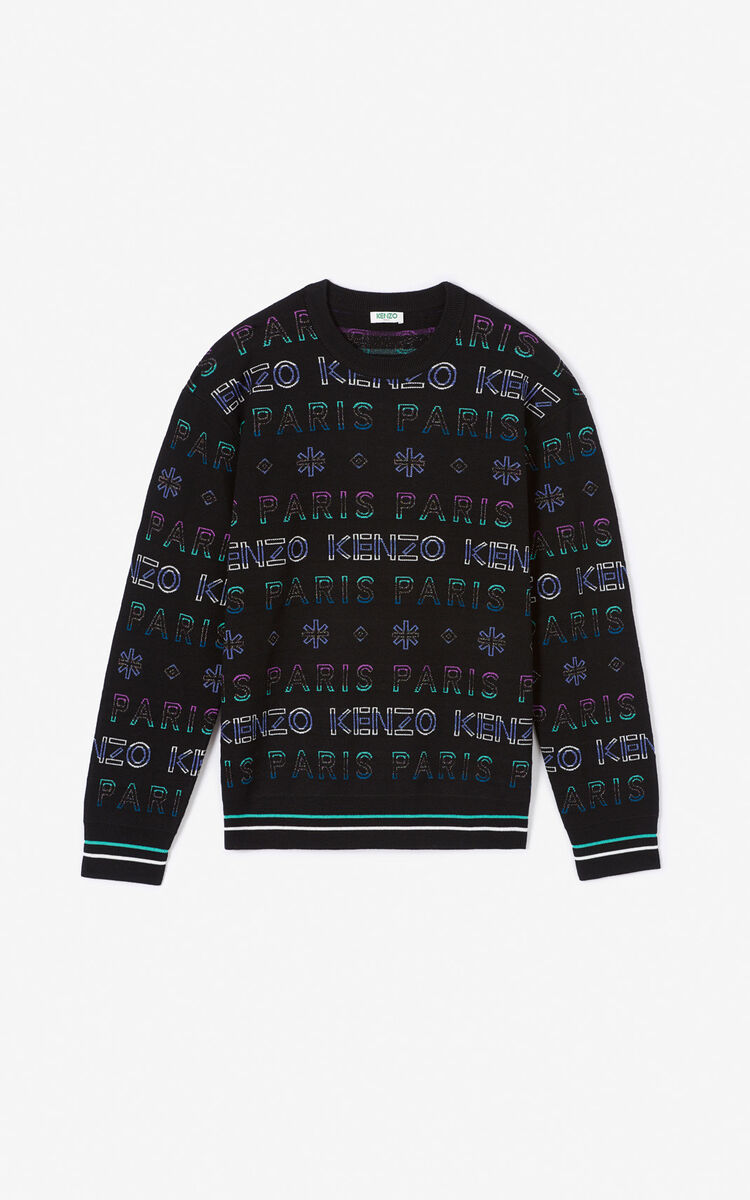 MULTICOLOR 'Holiday Capsule' KENZO Paris jumper for men