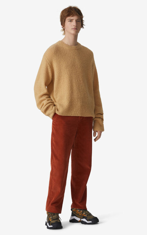SUEDE Cropped trousers for men KENZO