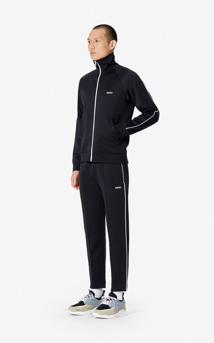 BLACK KENZO jogging trousers for men