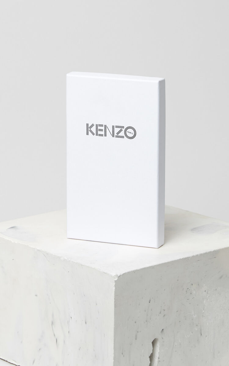 SILVER iPhone X Tiger Case for unisex KENZO