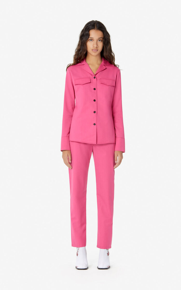 DEEP FUSCHIA Structured shirt for women KENZO