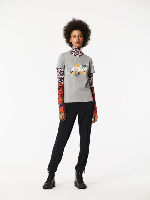 DOVE GREY KENZO x Floral Leaf' T-shirt  for women