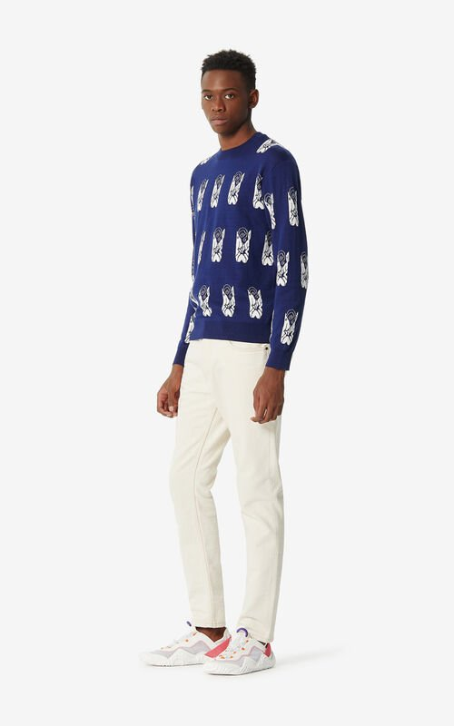 MIDNIGHT BLUE 'Shrimps' jumper for men KENZO