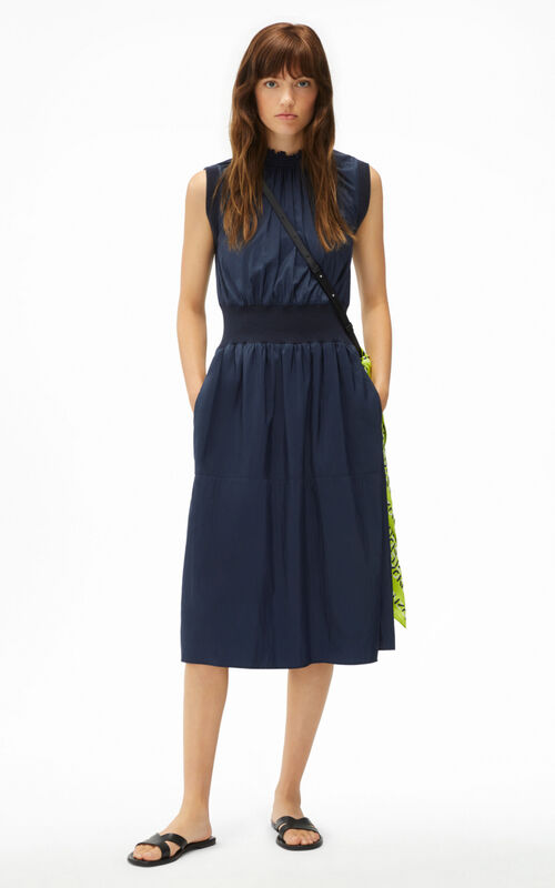 BLUE BLACK Fitted dress for women KENZO