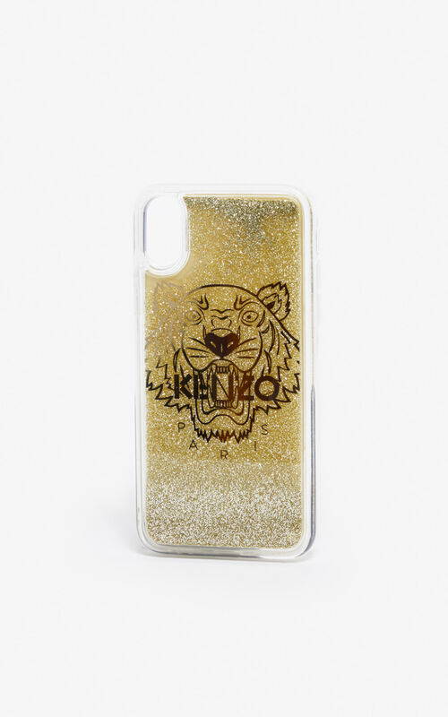 GOLD iPhone X/XS Case for unisex KENZO
