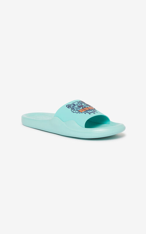 AQUA Tiger Pool mules for unisex KENZO