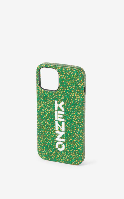 GREEN iPhone 12/12 Pro 'verti' case for unisex KENZO