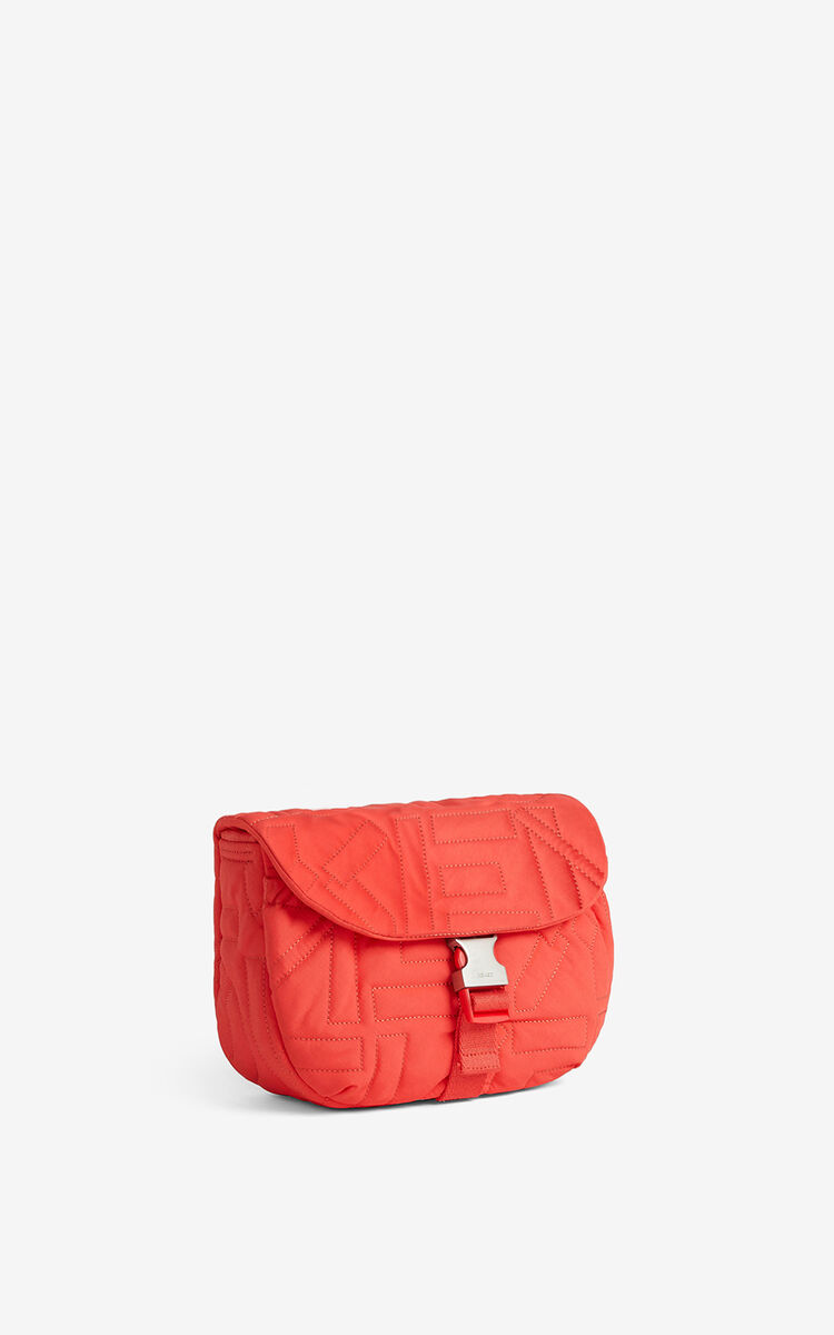 RED ORANGE Arctic small messenger bag for women KENZO