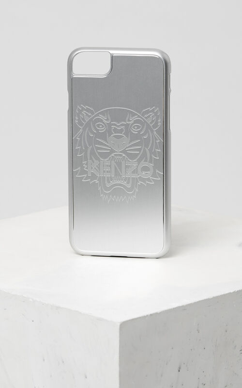 SILVER Tiger iPhone 7+ case for unisex KENZO