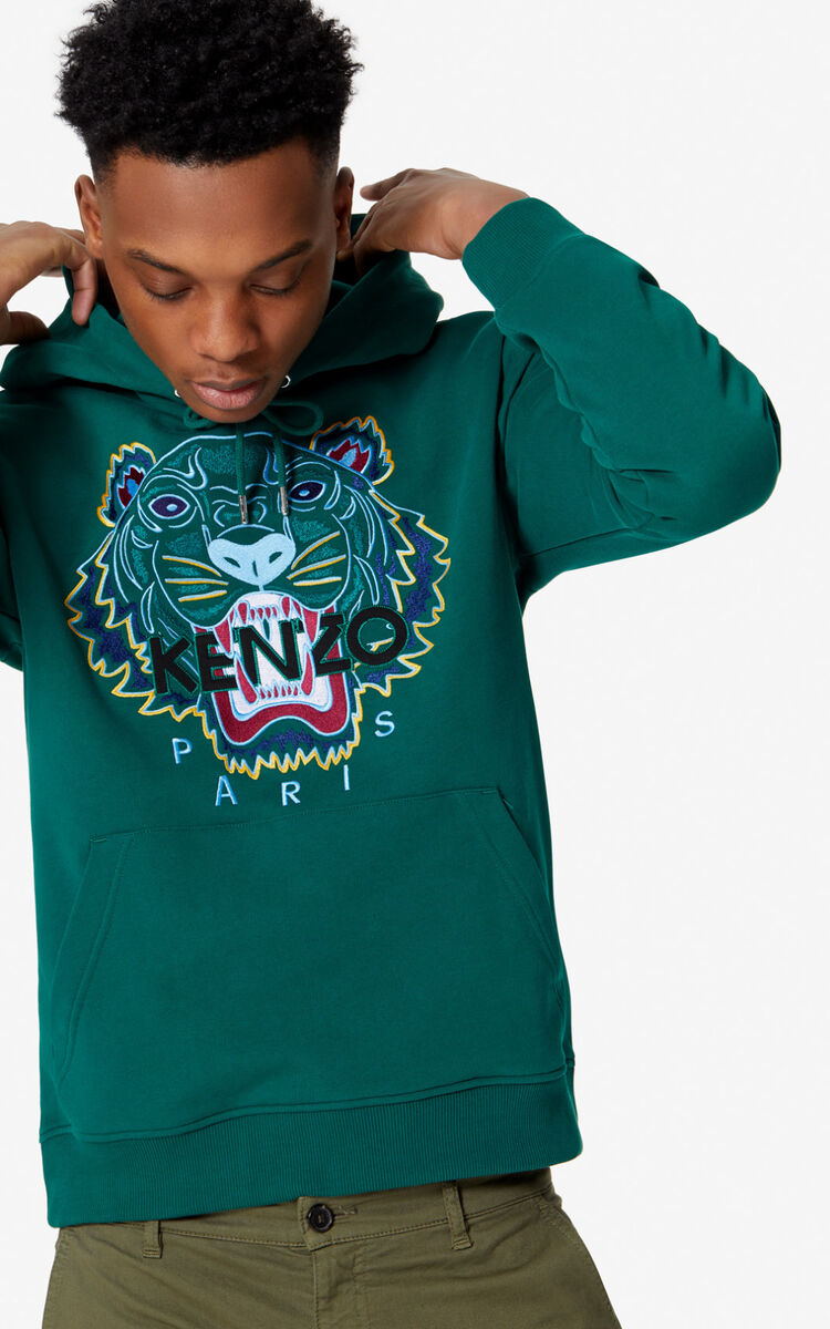 PINE Tiger hoodie for men KENZO