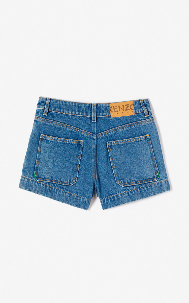 INK Denim shorts for women KENZO