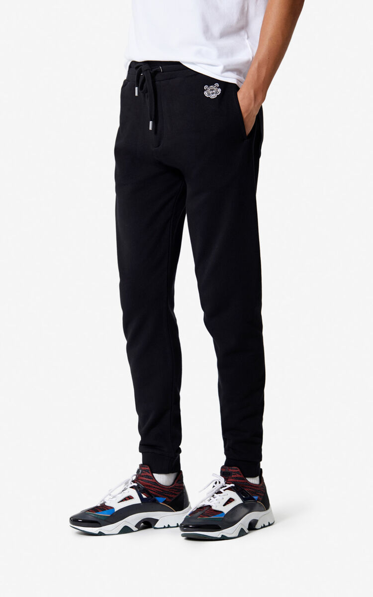 BLACK Tiger joggers for women KENZO