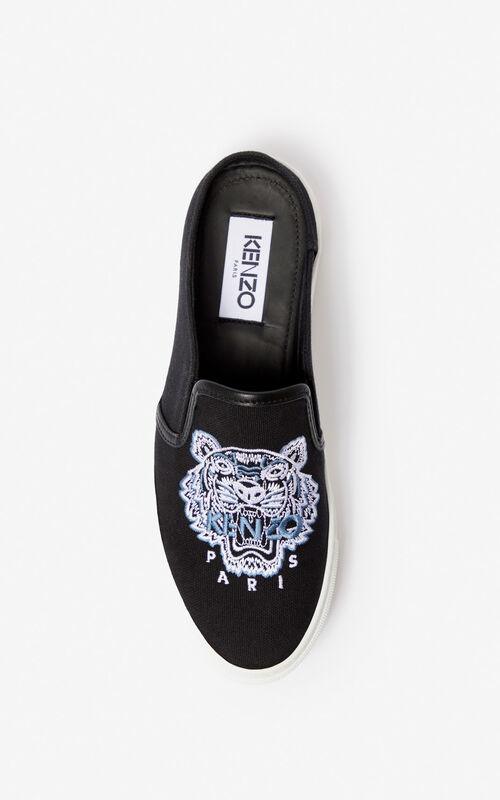 ce320c614 ... BLACK K-Skate Tiger slip-on mules for unisex KENZO