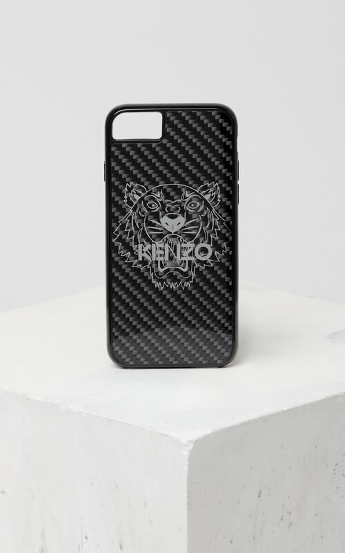 BLACK Tiger iPhone 7/8 case for unisex KENZO