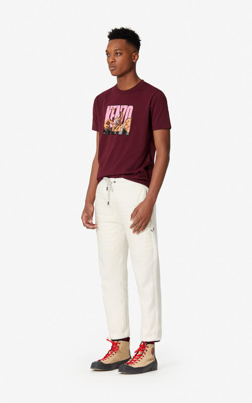 ECRU 'Polar Tech' trousers for men KENZO