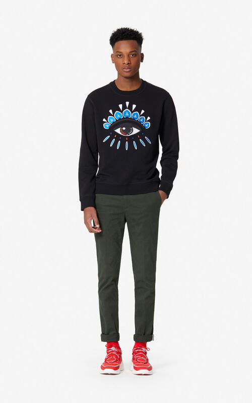 714f345e962dd BLACK Eye sweatshirt for men KENZO BLACK Eye sweatshirt for men KENZO