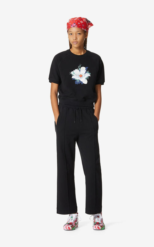BLACK Jogging trousers for women KENZO