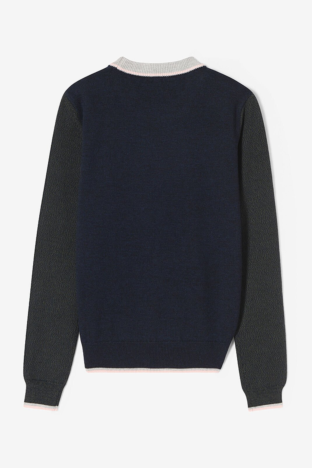 NAVY BLUE Tiger crest sweater for women KENZO
