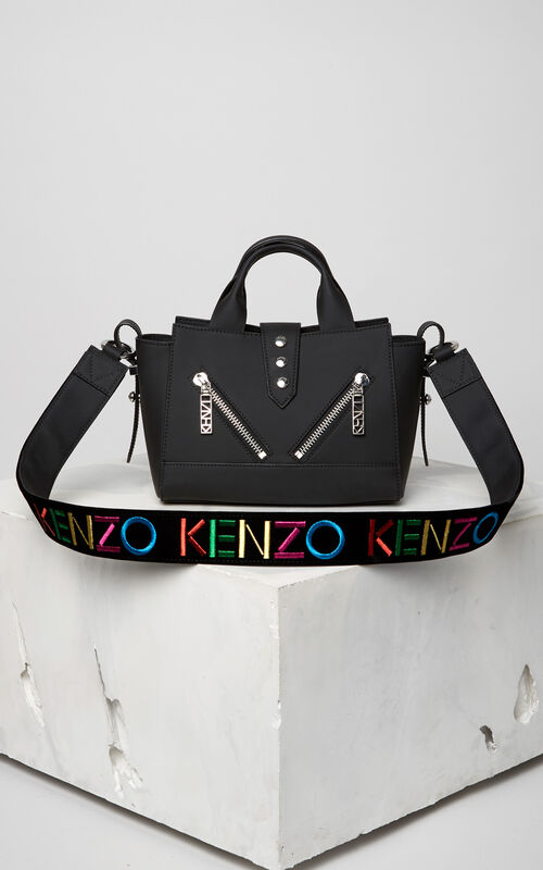 BLACK 'Holiday Capsule Collection' Mini Kalifornia and strap for women KENZO