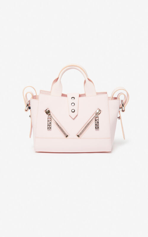 FADED PINK Mini Kalifornia bag Gommato leather for unisex KENZO
