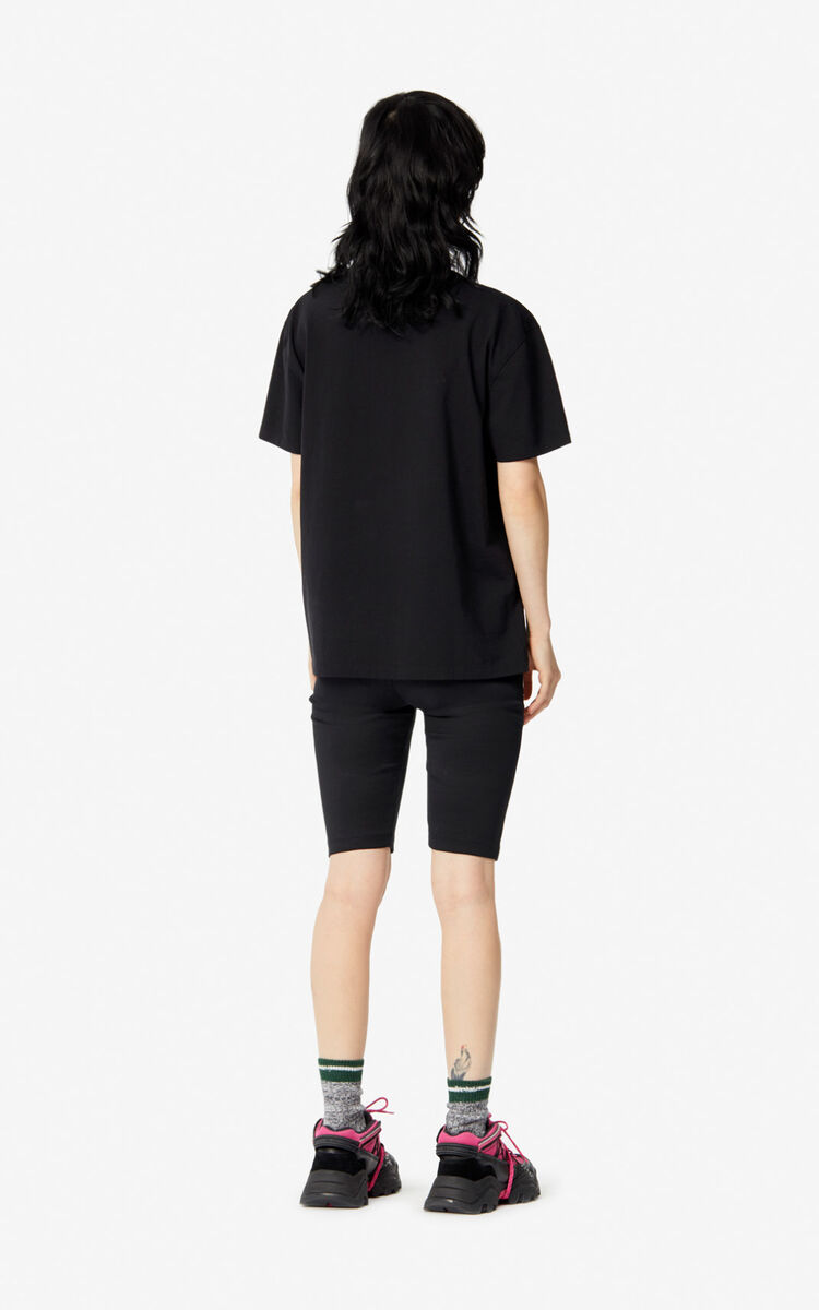 BLACK 'Capsule Expedition' Tiger T-shirt for women KENZO