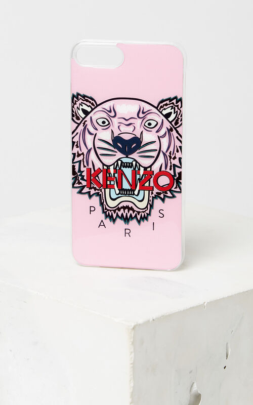 FADED PINK Tiger iPhone 8+ case for unisex KENZO