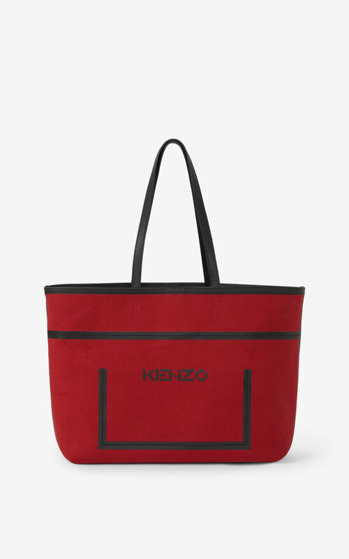 CHERRY Kanvas tote bag for unisex KENZO