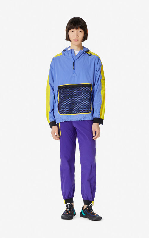 WISTERIA Colourblock windbreaker for men KENZO