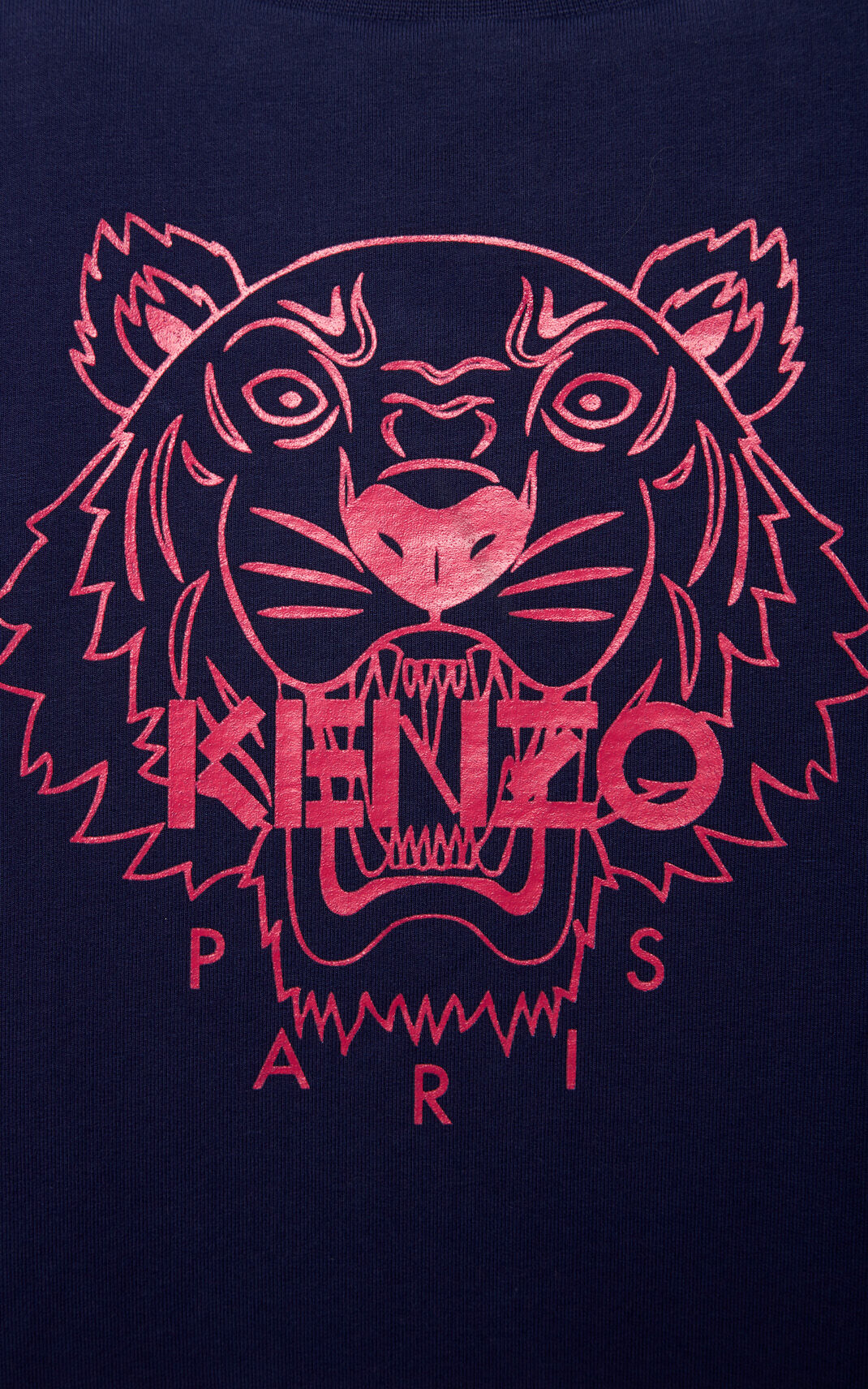 NAVY BLUE Reversable 'Tiger Stripes' jacket for women KENZO
