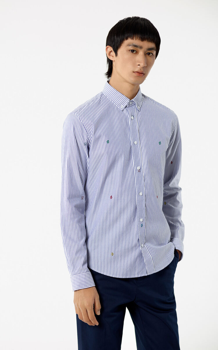 PERRIWINKLE Striped shirt for men KENZO