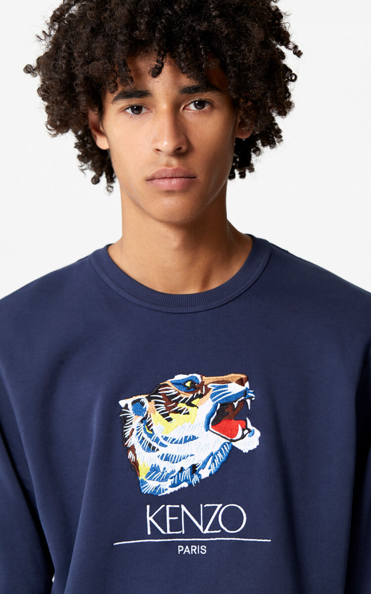 e883a80a74d Tiger Head' Sweatshirt 'Go Tigers Capsule' for OUTLET Kenzo | Kenzo.com