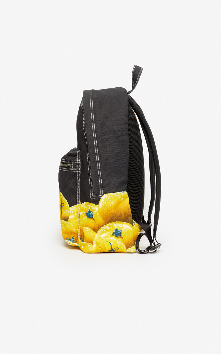 BLACK 'Tomato' backpack for women KENZO