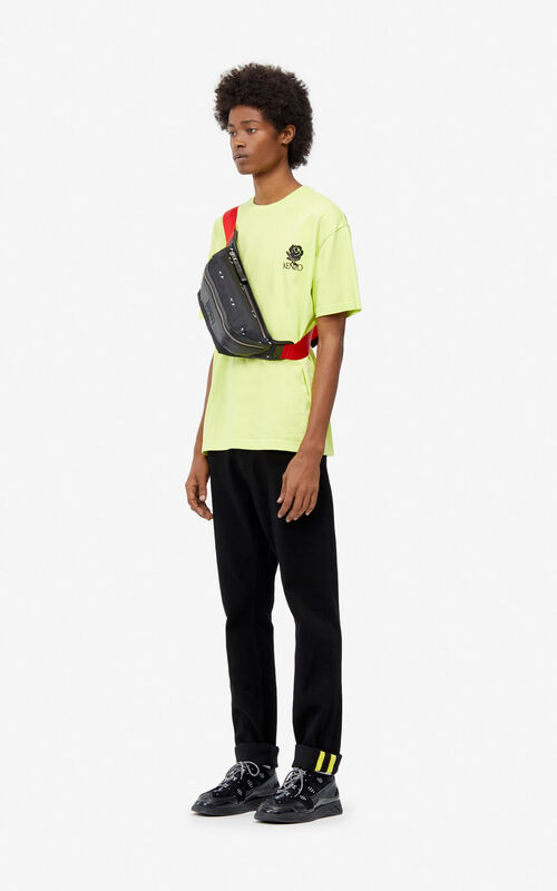 LEMON 'Roses' T-shirt for men KENZO