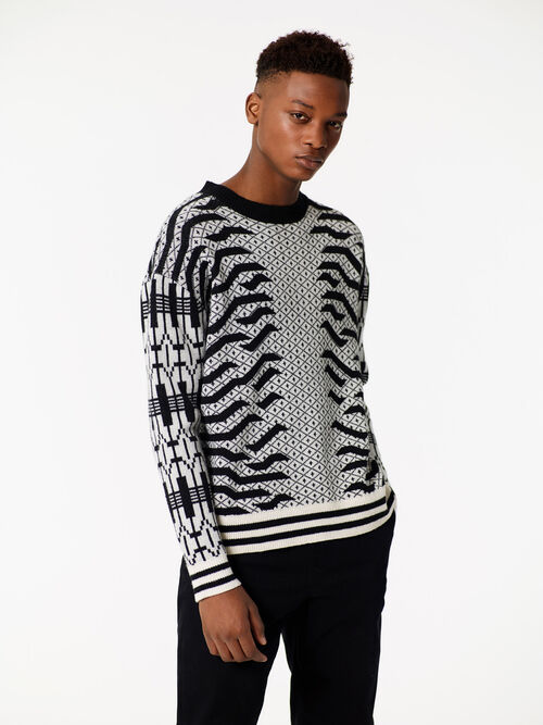 OFF WHITE Geo Tiger' Sweater for men KENZO