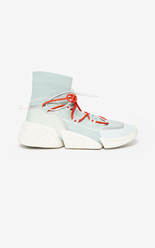 TEA GREEN K-Sock sneakers for unisex KENZO