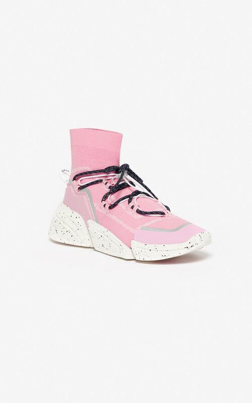 FLAMINGO PINK K-Sock sneakers for women KENZO